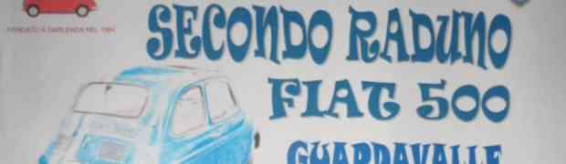 Guardavalle - Domenica 5 Maggio raduno di Fiat 500