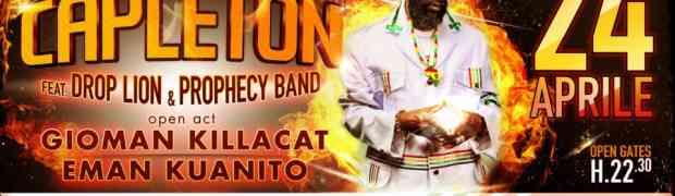 Catanzaro - Musica reggae, oggi al People il reggae di Capleton