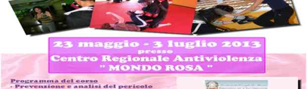 Laboratorio di antiaggressione Femminile al Centro antiviolenza Mondorosa