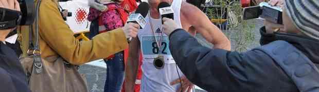 Il Soveratese Pino Sestito Campione Italiano master 55 di maratonina