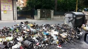 Foto | Soverato – Inciviltà e rifiuti bruciati …