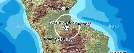 Calabria - Scossa di terremoto nella Sila