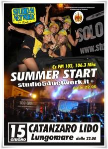 "Catanzaro Lido – ""Summer Start"" di Studio 54 Network"