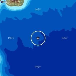 Due scosse di terremoto nella notte nel mar Ionio