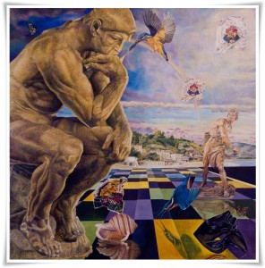 Soverato – Dipinto di Vincenzo Musmeci