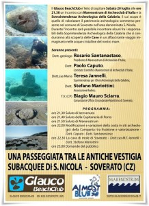 Soverato – Una passeggiata tra le antiche vestigia subacquee di S. Nicola