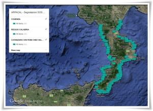 Sos Mare 2013: Arpacal attiva la mappa web delle segnalazioni