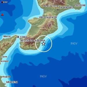 Doppia scossa di terremoto lungo la costa ionica calabrese