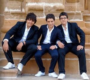 MGFF – I tre tenorini si esibiranno domenica nella serata conclusiva
