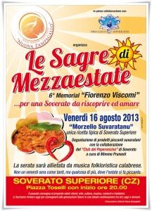 """Soverato Superiore – Venerdì 16 Agosto """"Le Sagre di Mezzaestate"""""""