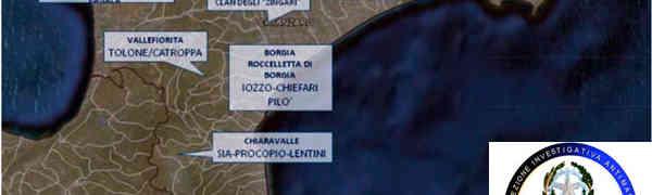 Ndrangheta nella Provincia di Catanzaro, la relazione semestrale della Dia