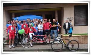 Una corsa in bici per la fibrosi cistica. Marzotto, Cassani, Lelli e Macchi a Soverato