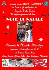 """Satriano – Domenica 22 Dicembre """"Note di Natale"""""""