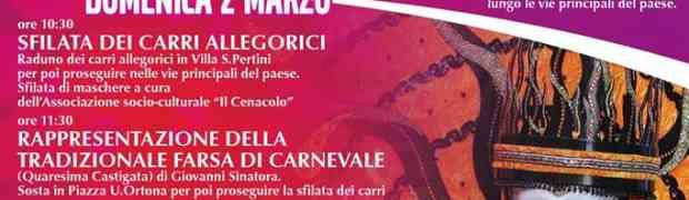 Borgia - Il Carnevale Borgese 2014, programma completo ...