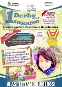 """Stalettì – Sabato 5 Aprile primo """"Derby del Sorriso"""""""