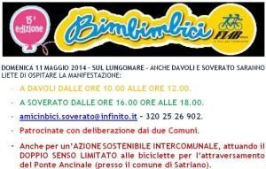 """Soverato – Domenica 11 Maggio """"Bimbimbici"""""""