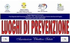 Si è concluso ieri il terzo anno scolastico del Progetto Luoghi di Prevenzione a Soverato