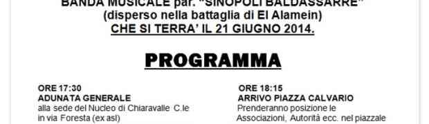 Inaugurazione del Nucleo Paracadutisti di Chiaravalle C.le