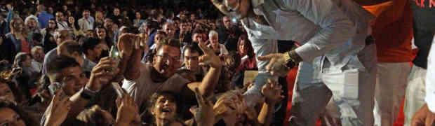 MGFF - Migliaia di giovani in visibilio per Emis Killa