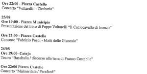 """Badolato – Annullata la """"Tarantella Power 2014"""", programmati nuovi eventi"""