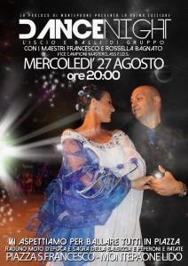 "Montepaone – Mercoledì 27 Agosto ""Dance Night"""
