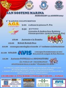 San Sostene – Mercoledì 13 Agosto il primo raduno cicloturistico