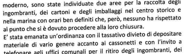 Rifiuti - Appello del Sindaco di Satriano, Michele Drosi