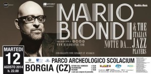 Martedì 12 Agosto concerto di Mario Biondi a Borgia