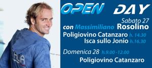 Attesa per l'arrivo di Massimiliano Rosolino, il programma dell'Open Day