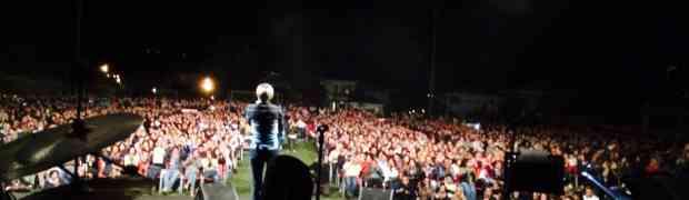 Pianopoli - In diecimila al concerto evento di Amii Stewart