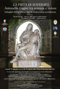 La Pietà di Soverato – Antonello Gagini tra scienza e colore indagini fotografiche per la policromia scomparsa