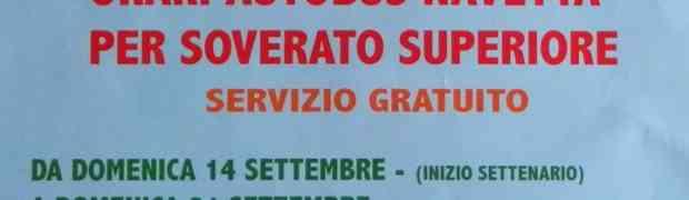 Soverato Superiore - Programmazione eventi Festa Maria SS Addolorata