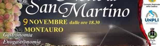 """Domenica 09 Novembre """"La Notte di San Martino"""" di Montauro"""