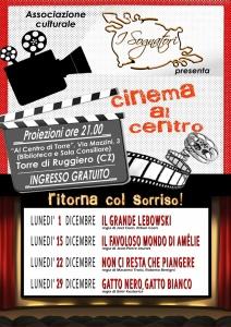 """Torre di Ruggiero – Rassegna cinematografica """"Ritorna col sorriso"""""""