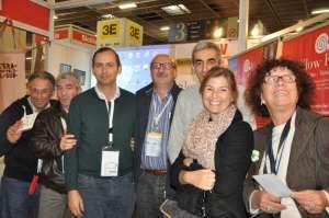 con Davide (al centro) al salone del gusto 2012.