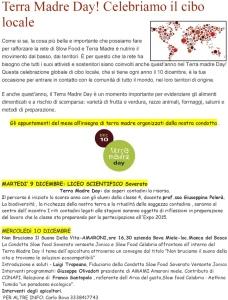 Slow Food Soverato: I nostri appuntamenti di Terra Madre Day