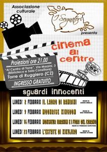 "Torre di Ruggiero – Rassegna cinematografica ""Sguardi innocenti"""