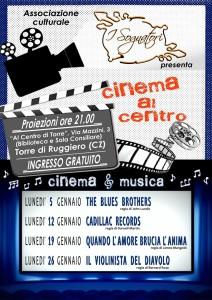 Torre di Ruggiero – Continua l'appuntamento settimanale con la rassegna cinematografica