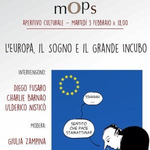 Catanzaro Lido – Martedì 3 febbraio incontro culturale sull'Europa