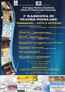 Chiaravalle – Prima Edizione della Rassegna Regionale di Teatro Popolare Calabrese