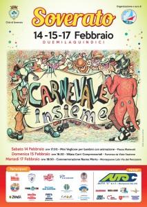 """Soverato – Il 14, 15 e 17 Febbraio """"Carnevale insieme"""""""