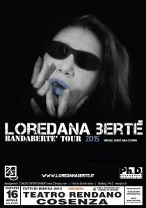 Grande attesa a Cosenza per il concerto di Loredana Bertè