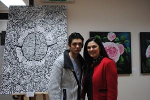 Inaugurata la personale di pittura di Angela Procopio, che anticipa la sua partecipazione alla Biennale di Barcellona