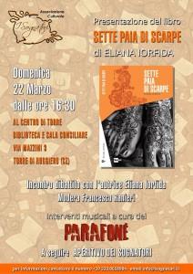 """Torre di Ruggiero – Presentazione del libro """"Sette paia di scarpe"""" di Eliana Iorfida"""