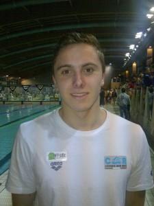 Terzo posto per Matteo Cinquino ai Campionati Italiani giovanili di Nuoto