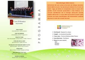 """Soverato – Sabato 21 Marzo concerto """"L'armonia dei neuroni"""""""