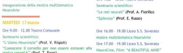 """Dal 16 al 22 marzo il Liceo Scientifico di Soverato promuove la """"Settimana del Cervello"""""""
