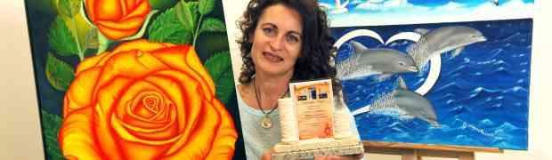 Premio Lupiae 2015 alla pittrice Angela Loprete