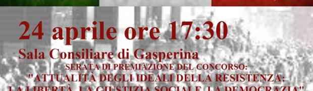 Gasperina - Celebrazione 70° anniversario della liberazione