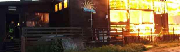 Catanzaro - Incendio di un lido balneare, indagini